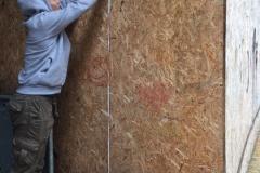 Ausmessen der Wände