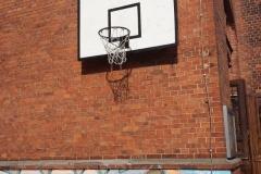 Der Basketball-Korb
