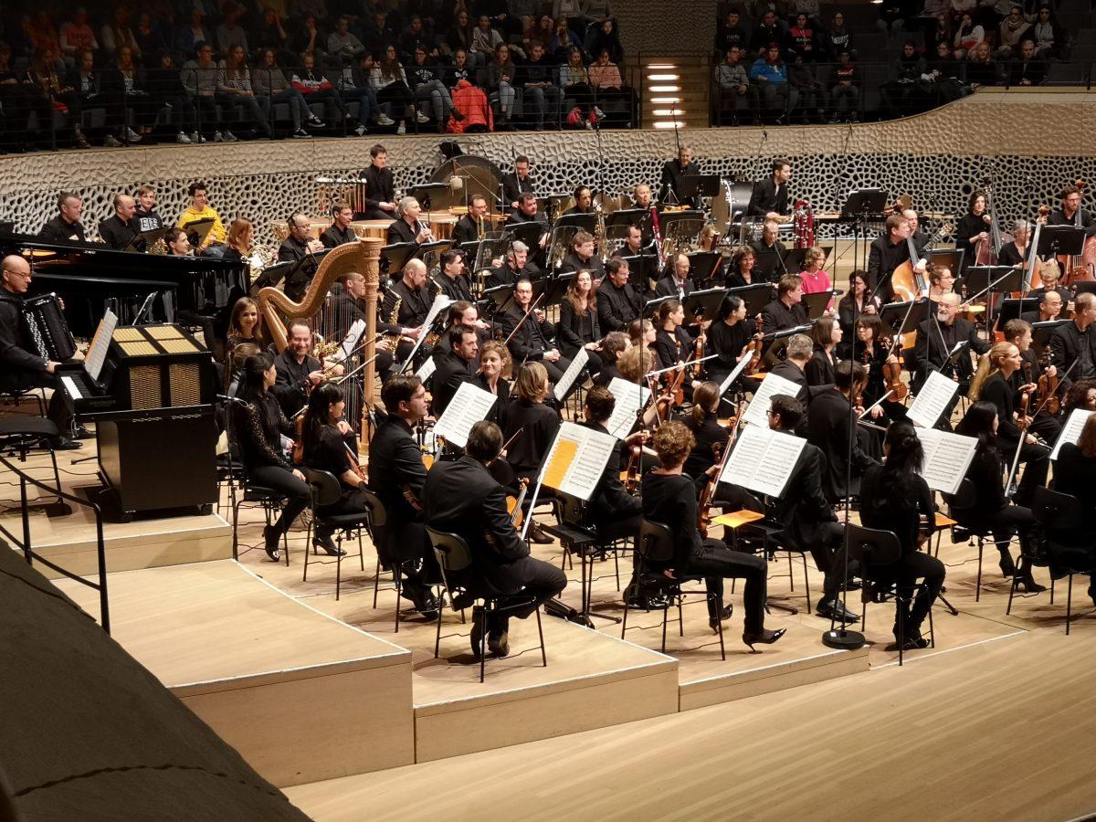 Angebot für individuellen Besuch in der MuK mit dem NDR Elbphilharmonie Orchester